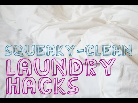 30 DIY Laundry Cleaning Ideas For All Stains