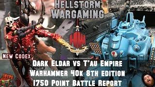 Drukhari vs Chaos 2000 8th Edition Warhammer 40K Battle Report