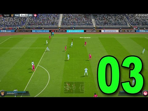 FIFA 15 Ultimate Team - Part 3 - First Online Game! (Let's Play / Walkthrough / Playthrough)