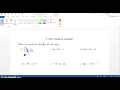Ink Tools in Word