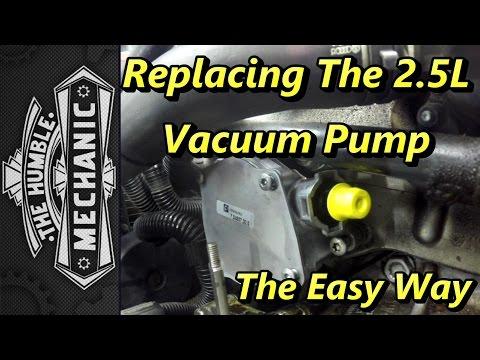 Replacing VW 2.5l Vacuum Pump ~ The Easy Way