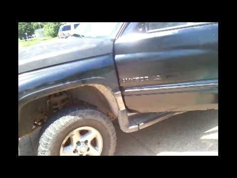 Replacing 97 dodge ram driver door (extended cab