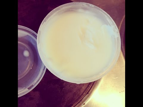 Homemade Natural Shea Hair Butter (How To)....Winter Natural Curly Hair Care Routine