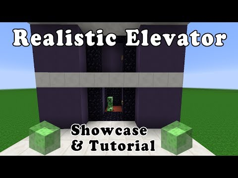 Realistic Piston Elevator (Showcase & Tutorial)