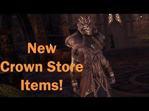 Crown Store Showcase October 27th | Elder Scrolls Online One Tamriel