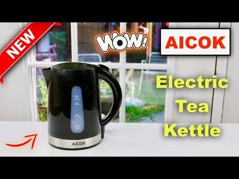 😍   AICOK Electric Tea Kettle - Review     ✅