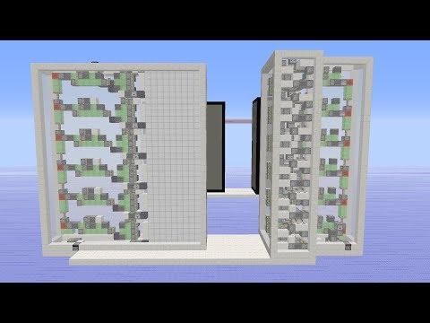 Piston Doors Using Flying Machines