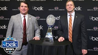 Virginia vs. South Carolina: 2018 Belk Bowl Preview