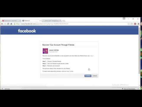 Reset Facebook Password without Email And Number 2017