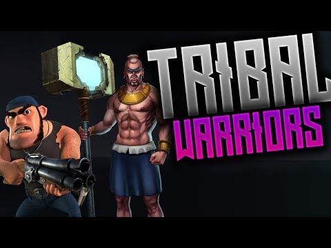 Boom Beach - Tribal Warriors vs 1.87m  HQ + 6 boosted ICE!