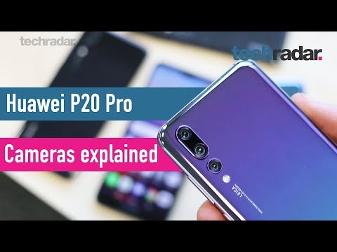 Huawei P20 Pro cameras explained
