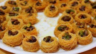بقلاوة كنافة عش البلبل تحلية شهية في رمضان
