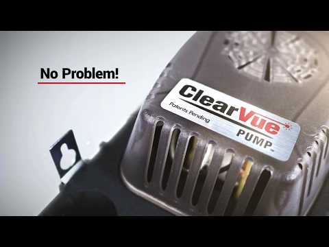 DiversiTech's ClearVue Advanced Condensate pump