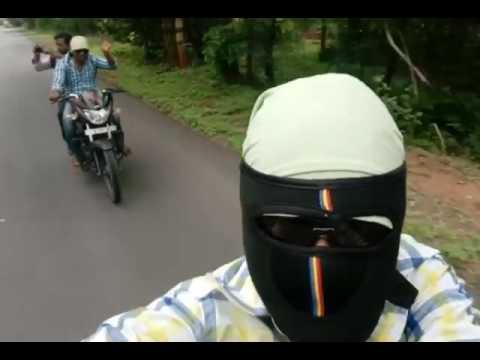 To bhogatha on bike