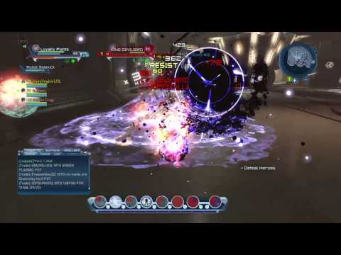 DCUO: Loyalty Points vs KING BOOTYBIRD (rage quit)