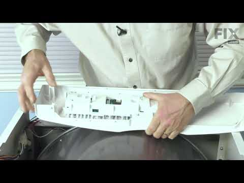 Frigidaire Dryer Repair - How to Replace the Control Board