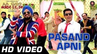 Pasand Apni Official Video - Aa Gaye Munde UK De   Jimmy Sheirgill, Neeru Bajwa   Punjabi Folk   HD