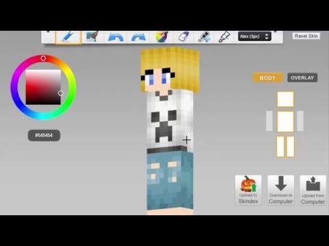 Tomboy Girl Minecraft Skin Speed Paint