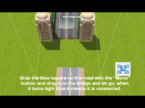 Sims 3 CAW ( create a world tool ) .:Connect roads to bridges:.