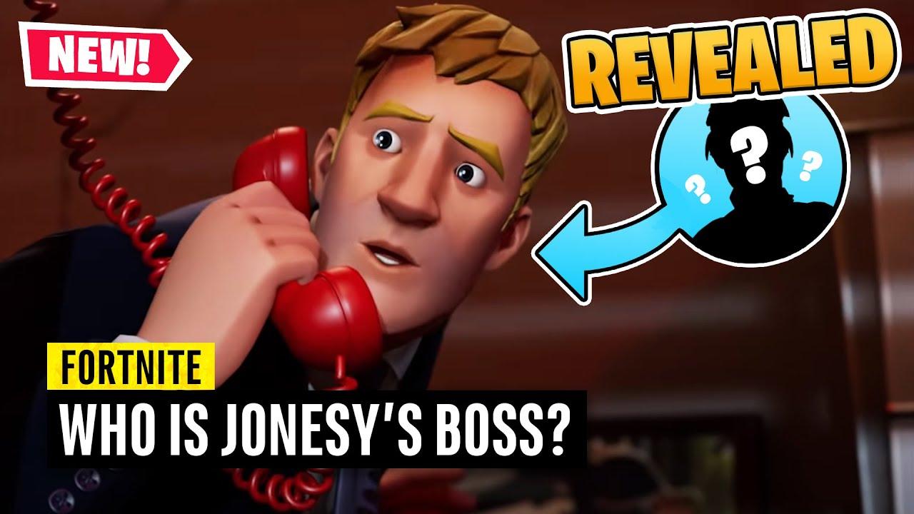 Fortnite   Who is Jonesy's Boss and IO Leader?