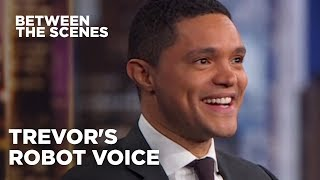 Trevor's Moment of Silence - Between the Scenes | The Daily Show