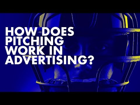 How Does Pitching Work When Trying To Get Work From Advertising Agencies?