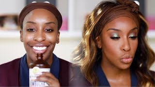 Let's Get GLAM Together! Makeup + Outfit Too!   Jackie Aina