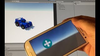 Creating a Game Controller from a Mobile Device with Unity: Part 1