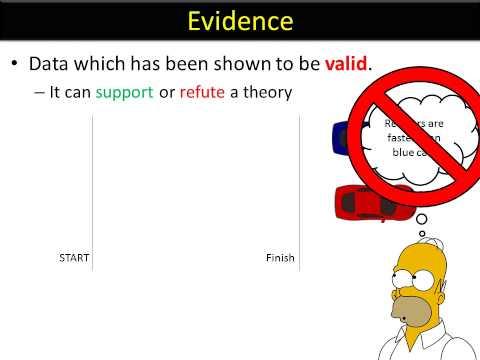 ISA language 1 - The Scientific method
