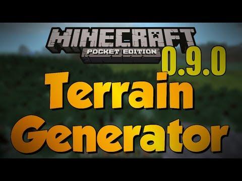 [0.9.0] Minecraft Pocket Edition Terrain Generator Update