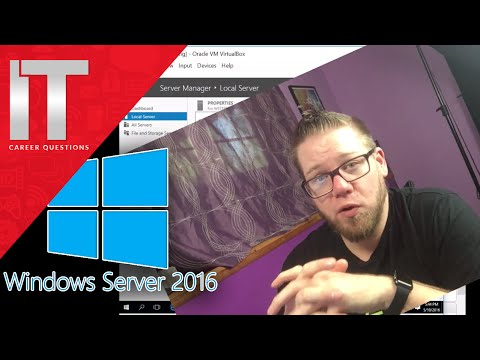 Server 2016 Basics - Assigning a Static IP and Naming The Server Tutorial