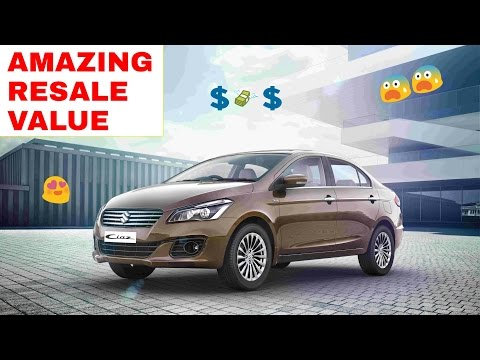Top 10: Cars with BEST RESALE VALUE ! ! !