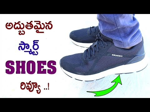 The Best Xiaomi Smart Running Shoes With INTEL CHIP REVIEW | 2018 TELUGU