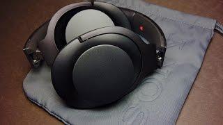 Sony h.ear MDR 100AAP Unboxing