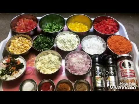 How to make dosa pizza