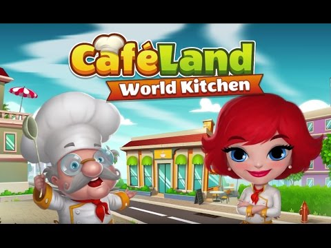 Cafeland - World Kitchen now on Google Play and App Store!