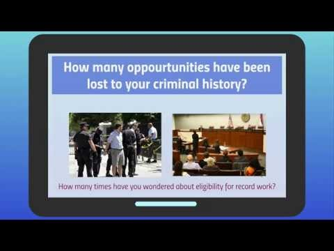 Sealing or Expunging Criminal Records in Florida