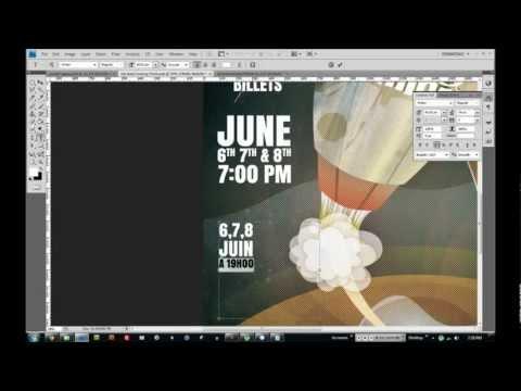 Speed Design - Rocket Ship Concert Poster
