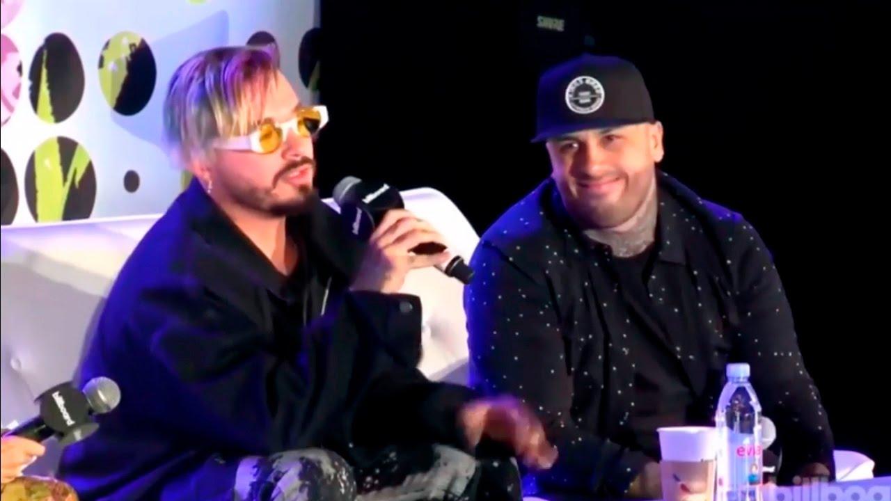 "Nicky Jam & J Balvin imitan a Justin Bieber en "" Despacito Remix """