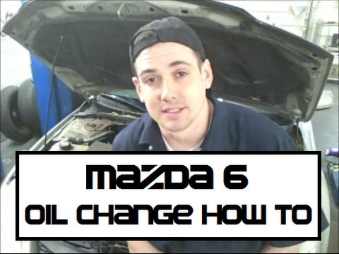 Mazda 6 Oil Change How-to Mazda6