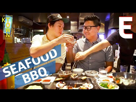 This Giant Seafood Feast is Korean Barbecue Like You've Never Seen Before — K-Town