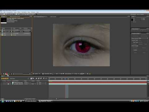 Change your eye color in After Effects