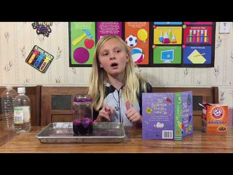 Kendall the Scientist Shows You How to Make A Foaming Dinosaur for Kids