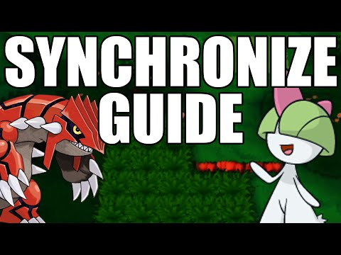 Synchronize Pokemon Guide Omega Ruby and Alpha Sapphire - Getting Perfect Nature Legendaries ORAS