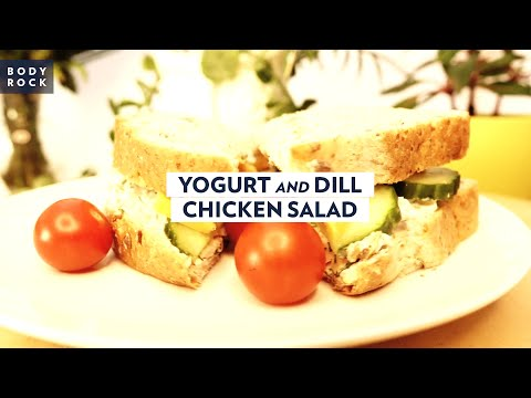 Chicken Salad Recipe with Yogurt and Dill