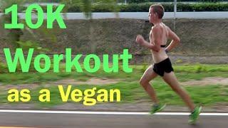 Running Motivation   10K Tempo Run w a No-Meat Athlete