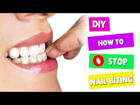 DIY | Stop Biting Your Nails FOREVER! - simplekidscrafts