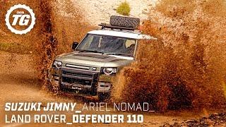 Ground-breaking Off-Roaders: New Defender, Ariel Nomad, Suzuki Jimny | TopGear.com | Top Gear