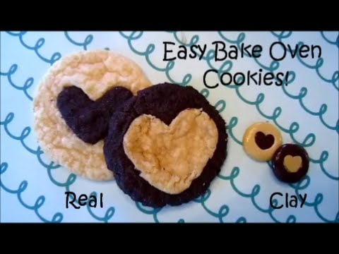 2 in 1: Easy Bake Oven Chocolate Sugar Cookie!