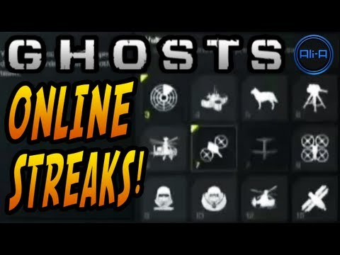 GHOSTS Killstreaks - MOAB / Nuke? - Specialist, Assault and Support Streaks! - (Call of Duty Ghost)